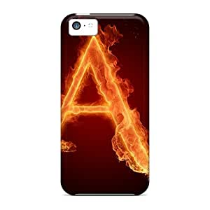 Awesome Case Cover/iphone 5c Defender Case Cover(letter A)