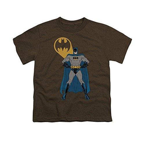 Sons of Gotham Batman Arms Akimbo Bats Youth T-shirt Xl