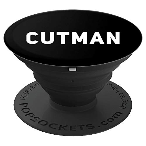 Cutman Boxing Combat Sports Gift PopSockets Grip and Stand for Phones and Tablets