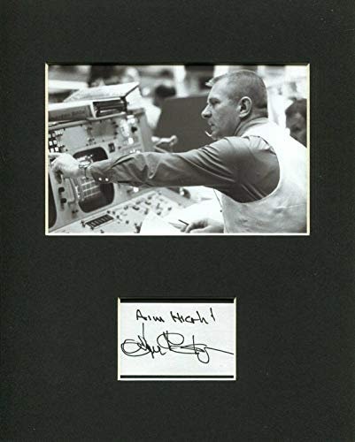 Eugene Gene Kranz NASA Flight Director Space Signed Autograph Rare Photo Display from Hollywood Memorabilia