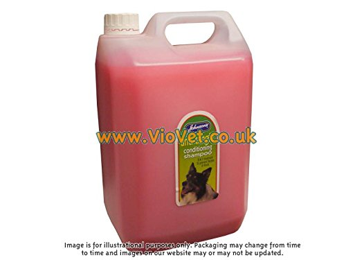 Johnsons Veterinary Products Jvp Dog Anti-tangle Conditioning Shampoo 5 Ltr