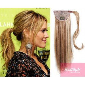 HOTstyle - Clip in ponytail wrap / braid hair extension 24