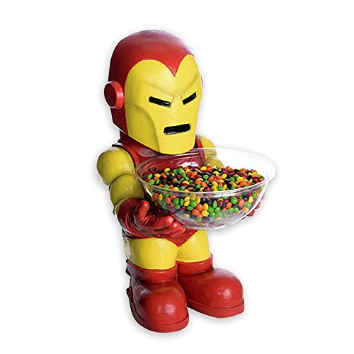Iron Man H840665 Marvel Candy Bowl Holder, MultiColour