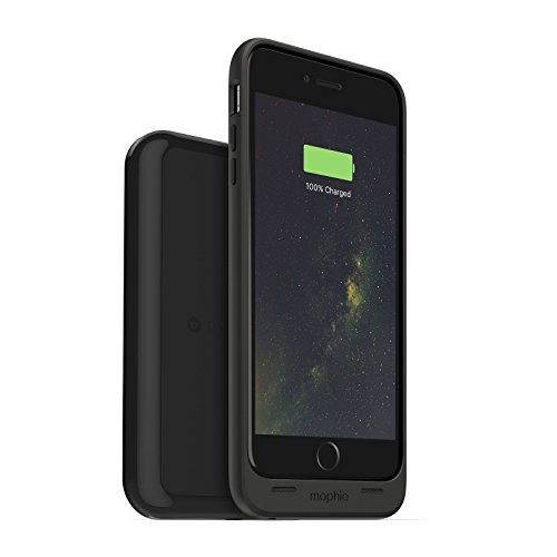 mophie juice pack wireless and charging base - Charge Force - Wireless Charging Protective Battery Pack Case and Magnetic Charging Base for iPhone 6 Plus/6S Plus - Black (Renewed)