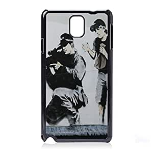 NICE CASE Graffiti Police Marksman Snap-on Hard Back Case Cover for Samsung Galaxy Note 3 (N9000 N9002 N9005) by ruishername