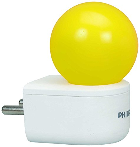 PHILIPS 0.5W LED Yellow Bulb, Pack of 1, (Joy Vision)