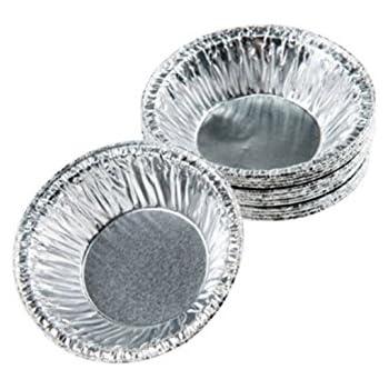 """LFHT Disposable 3"""" Aluminum Foil Tart/Pie Pans Mold(250 pcs)"""
