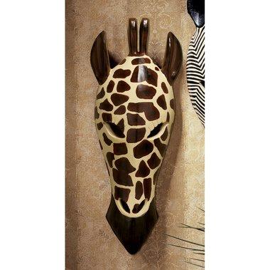 African Mask Nigerian Giraffe Sculpture home garden statue (The Digital Angel) from Digital Angel