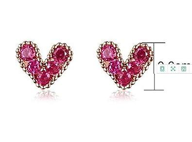 Cherryzz Clearance Sale Crystal Gemstone Drop Dangle Stud Earrings For Women Girls