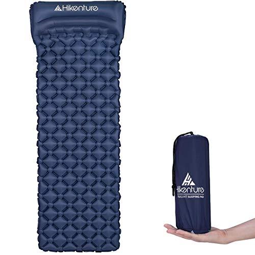 Wandeling opblaasbare slaapmat door kampeermatras en opblaasbare rolmat- compact en vochtbestendig – voor wandelen…