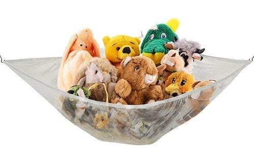 Jumbo Toy Hammock Net Organizer Stuffed Animals Storage 6'