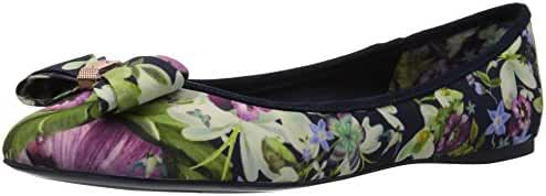 Ted Baker Women's Immep Text AF Entangled Enchantment Ballet Flat