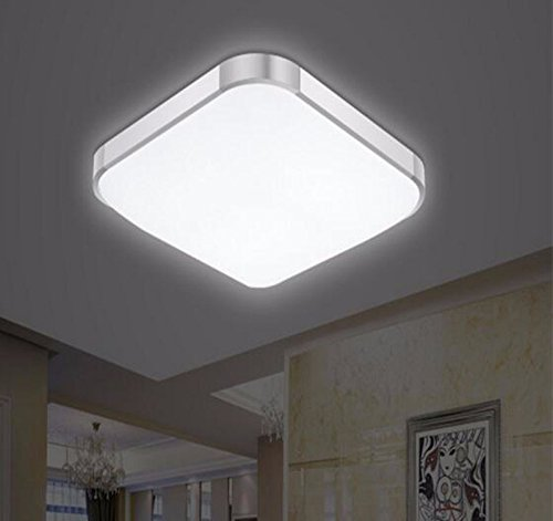 Sursy Iluminación de techo Moderna lámpara de panel plano ...