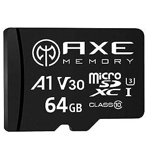 [Amazon限定ブランド] アクス 64GB microSDXCカード AXP4K64