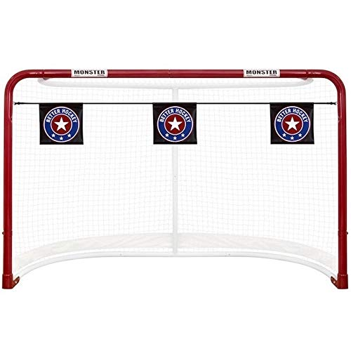 (Better Hockey Extreme Goal Targets Sharp Shooting Training Aid)