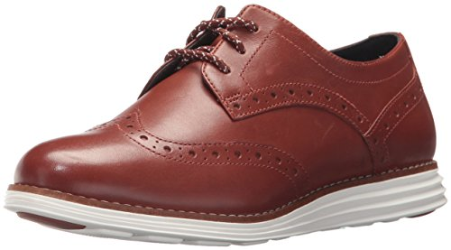Cole Haan Women's Original Grand Wingtip, Brand Brown, 7.5 B US