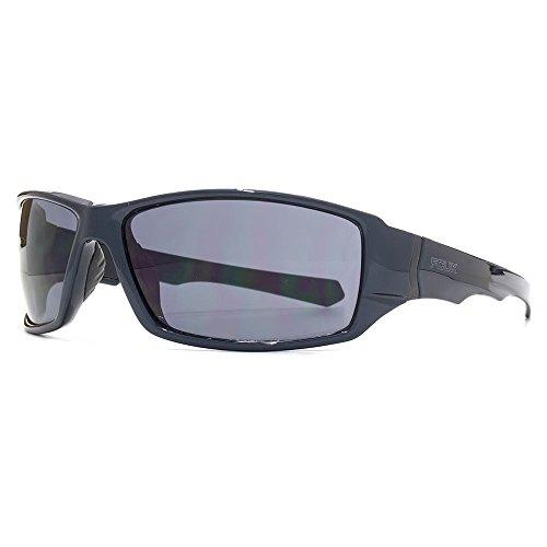 FCUK lunettes de soleil sport wrap en bleu nuit FCS054 Midnight Blue Grey