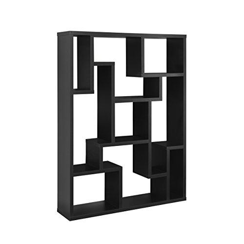 Back Display Stand, Black (Furntiure Living Room Furniture)