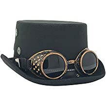 Kopper Tops Steampunk Costume Top Hat Victorian Gothic accessories Gears