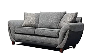 Sofas4u Zeta Collection - Sofá de Tela: Amazon.es: Hogar