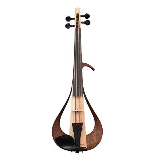 Yamaha Electric Violin-YEV104NT, Natural (YEV104NT) by YAMAHA