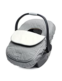 JJ Cole Car Seat Cover for Infants, Graphite BOBEBE Online Baby Store From New York to Miami and Los Angeles