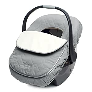 JJ Cole Car Seat Cover for Infants, Graphite