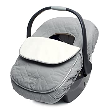 JJ Cole Car Seat Cover For Infants Graphite