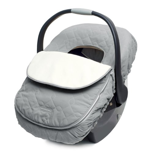 JJ Cole Car Seat Cover for Infants, Graphite (Girl Baby Car Seat Covers compare prices)