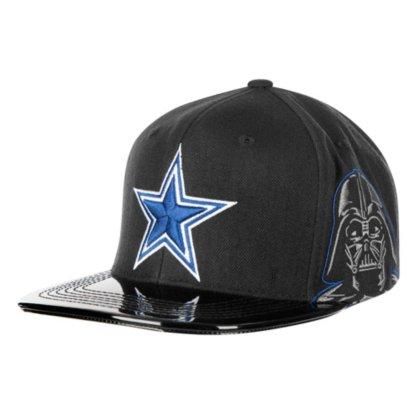d7c8a8f0 Amazon.com : Dallas Cowboys Star Wars Imperial Attack Vader Snapback ...