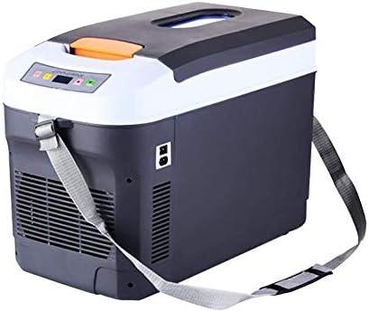 ZWH-ZWH 電気クールボックス25Lデュアルコアカー冷蔵庫カーとホムクーラーとセルフドライブツアー、ピクニック、釣り、キャンプ用ウォーマーDC12V / 24V 車載用冷蔵庫