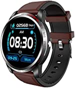 NiceFuse Smart Watch, Fitness Tracker with Heart Rate Monitor Blood Oxygen