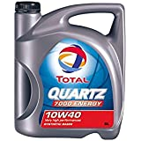 Aceite lubricante coche Total Quarz 7000 Energy 10w40 5Ltrs