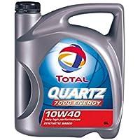 Aceite lubricante coche Total Quarz 7000 Energy 10w40 5Ltrs