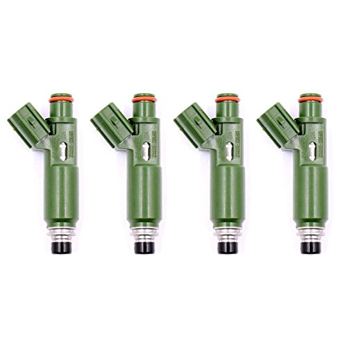 Genuine OEM Set of 4 Fuel Injectors TOYOTA Chevy 1.8L 232090D040 2325022040 (Injector Celica Fuel)
