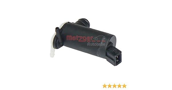 Metzger 2220016 Bomba de agua de lavado, lavado de parabrisas: Amazon.es: Coche y moto