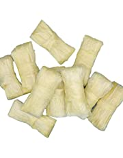 Sausage Casing, Edible Collagen Casings Dry Pig Sausage Casing Tube, Edible Drying Sausage Casing, Practical Sausage Tool for Flavorous Homemade Sausages Ham - 10 PCS(2.5 m / 8.2 ft)