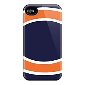 Iphone 4/4s EFJ16054ZARs Allow Personal Design Stylish Chicago Bears Pictures Anti-Scratch Hard Phone Case -KerryParsons