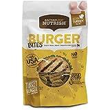 Rachael Ray Nutrish Burger Bites Grain Free Dog Treats, Turkey Burger Recipe, 12 Oz.