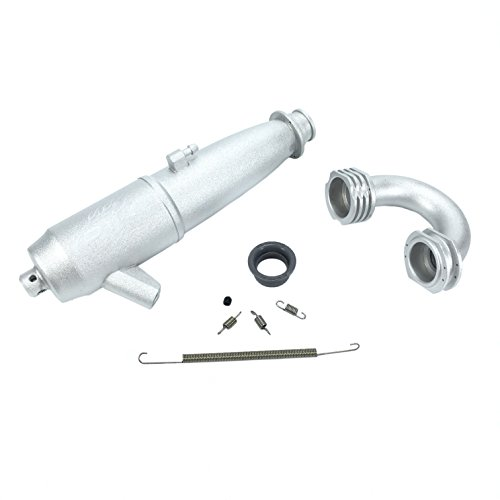 PR Racing 2088 Aluminum Tuned Exhaust Pipe for 1/8 Off road nitro powered Engine Off Road Competition Buggy Engine