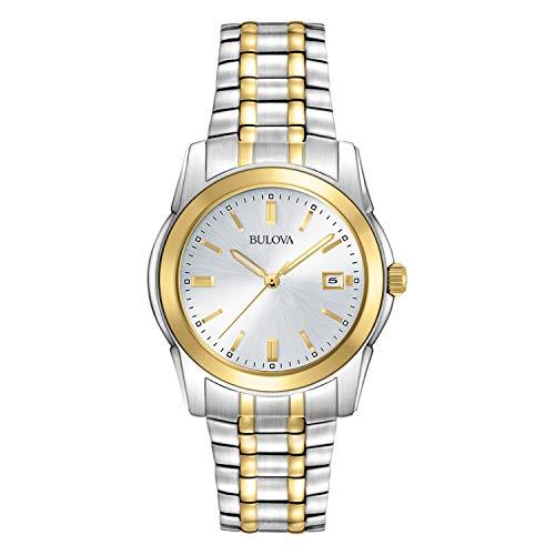 (Bulova Men's 98H18 Two-Tone Bracelet Watch)