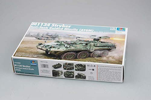 Trumpeter 1/35 M1134 Stryker Anti-Tank Guided Missile (ATGM) (Best Anti Tank Missile)