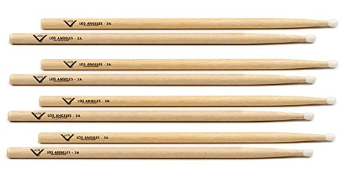 - Vater Hickory Drumsticks - 5A Nylon, Buy 3 Get 1 Free 5A