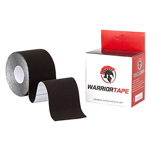 letic Tape-Athletes Tape-Black Athletic Tape-Sports Tape-Rehabilitation-Sports Performance-Pain Relief- (Warrior Products Rock)