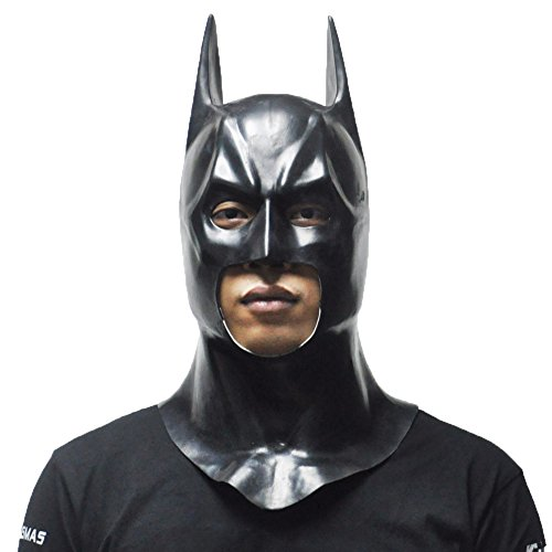Mask Full Face Party Superhero Batman Bruce Wayne Masks Movie Cosplay Costume Latex Rubber Party Props Halloween