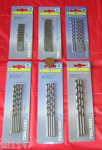 3.0mm 8pc FUM Tools Long Series Drill Bits Hss 4241 Tools