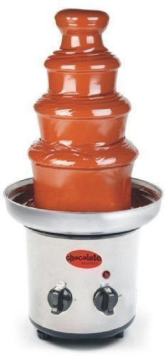 Amazonde Schokoladenfontäne Aus Edelstahl Elektrisch Für 900gr