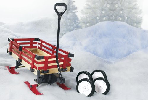 Millside Industries Convertible Garden Wagon Sleigh