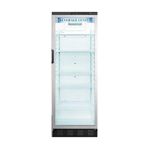Summit SCR1400W Beverage Refrigeration, Glass/White by Summit Appliance
