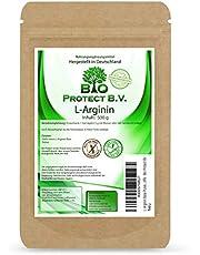 L- Arginin Base Poeder 500 gram - 100% zonder additieven - zuiverste arginine poeder in premium kwaliteit van Bio Protect altijd vrij van magnesiumstearaat en andere additieven